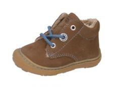Zimní barefoot boty RICOSTA Corany W hazel/jeans 12312-274 | 20, 21, 22, 23, 24