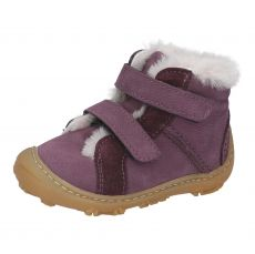 Zimní barefoot boty RICOSTA Lias plum W 15303-394 | 20, 21, 22, 23, 24, 25, 26