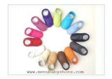 Barefoot Capáčky Menu baby shoes - zelené s balónem bosá