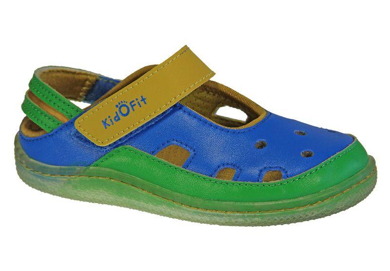 Barefoot Kidofit Beach walk blue bosá