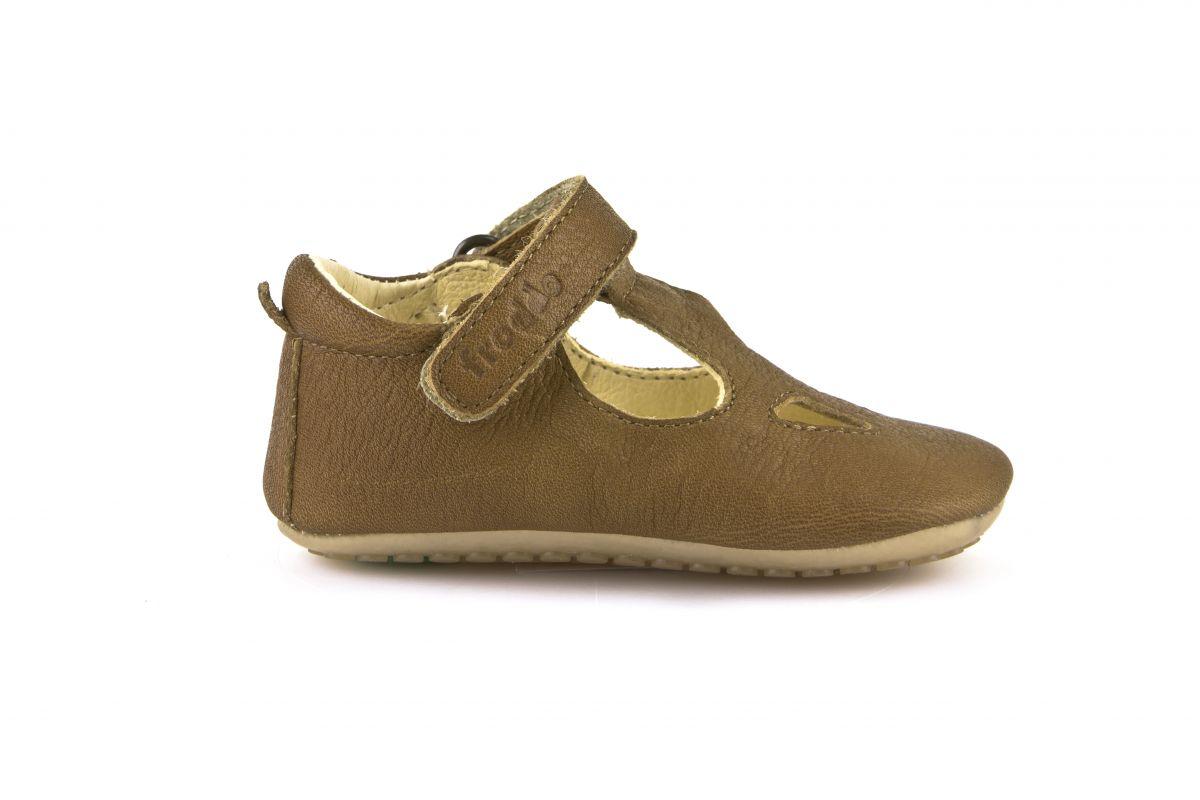 Barefoot Froddo prewalkers sandálky hnědé -koňak bosá