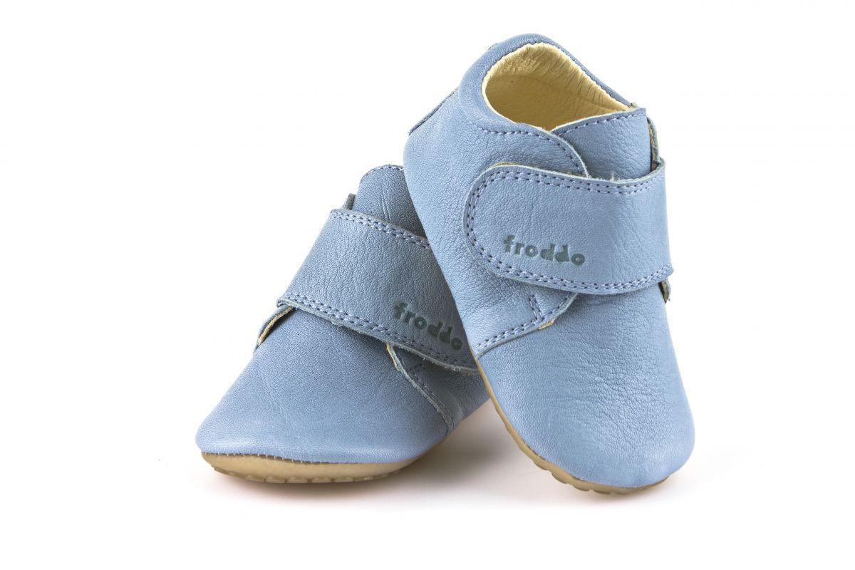 Barefoot Froddo prewalkers světle modrá bosá