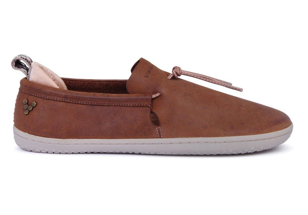 Barefoot Vivobarefoot ELINA L Leather Chestnut/Hide bosá