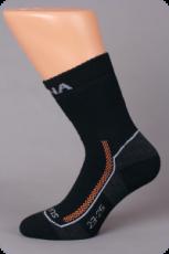 Surtex ponožky froté - 95 % merino hnědé