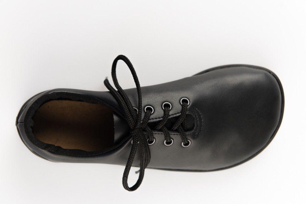 Barefoot Ahinsa shoes Černá Společenská (Ananda) bosá