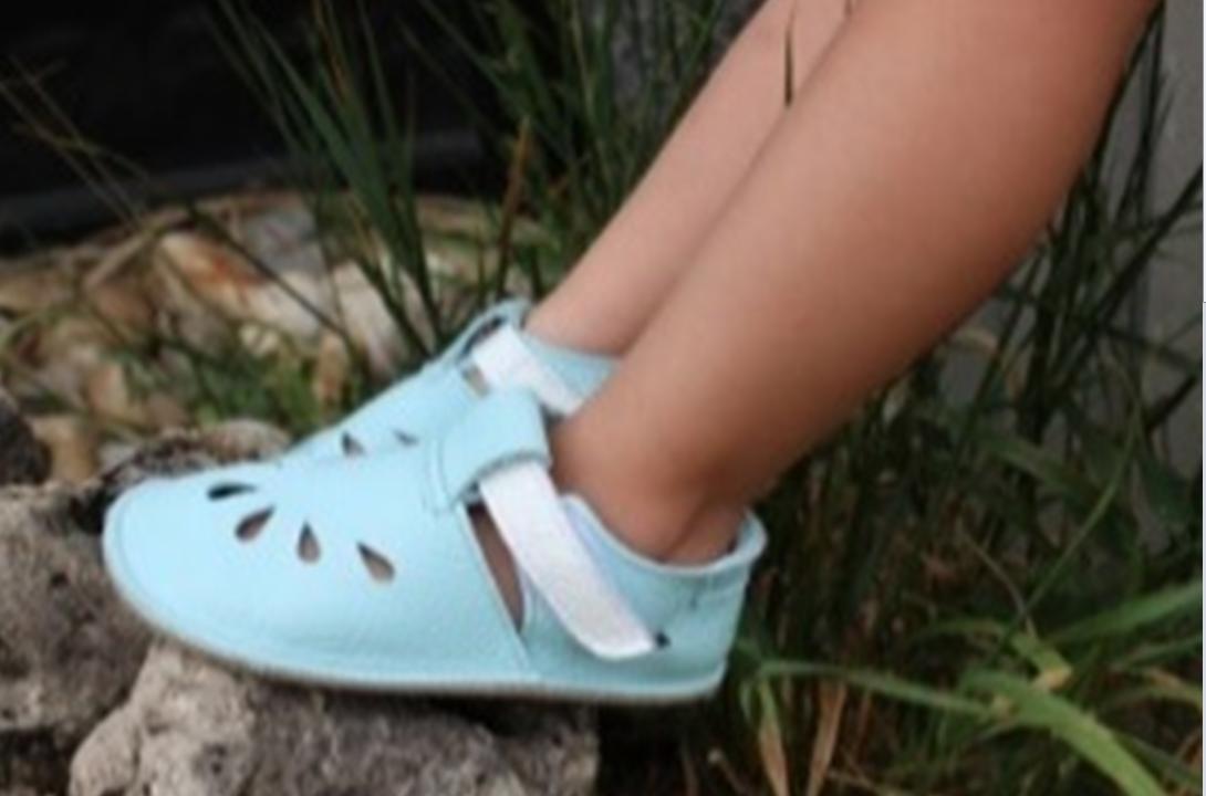 Barefoot Baby bare shoes Sandálky / papučky IO Acqua bosá