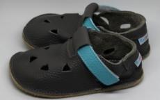 Baby bare shoes Sandálky / papučky IO Blue Beetle