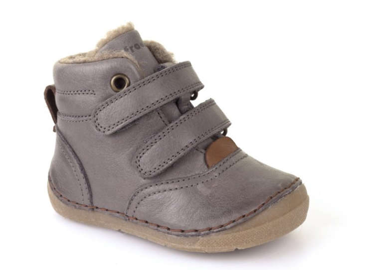 Barefoot Froddo winter boots Sheepskin grey bosá