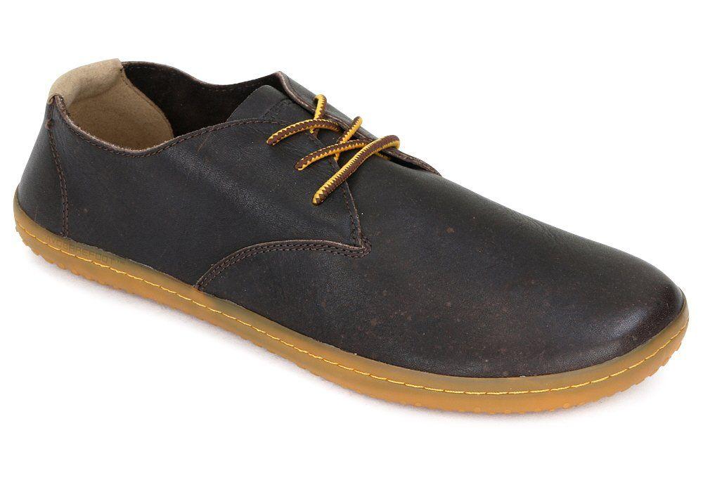 Barefoot Vivobarefoot RA II M Leather Brown/Hide bosá