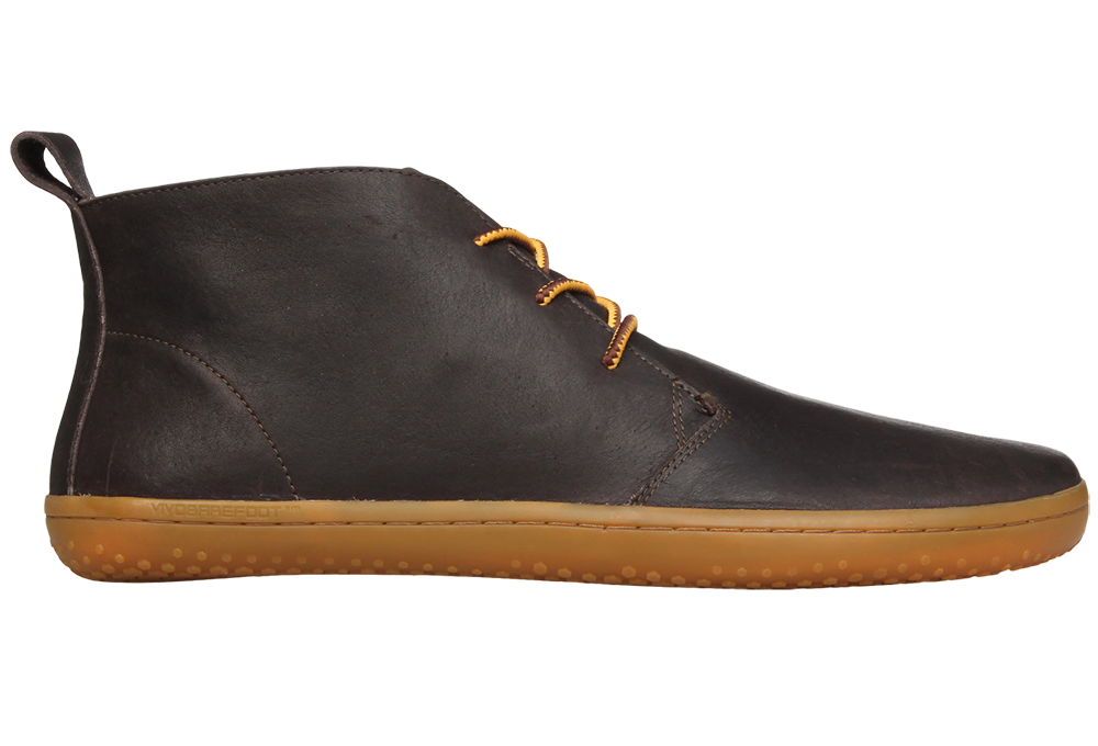 Barefoot Vivobarefoot GOBI II M Leather Brown/Hide bosá