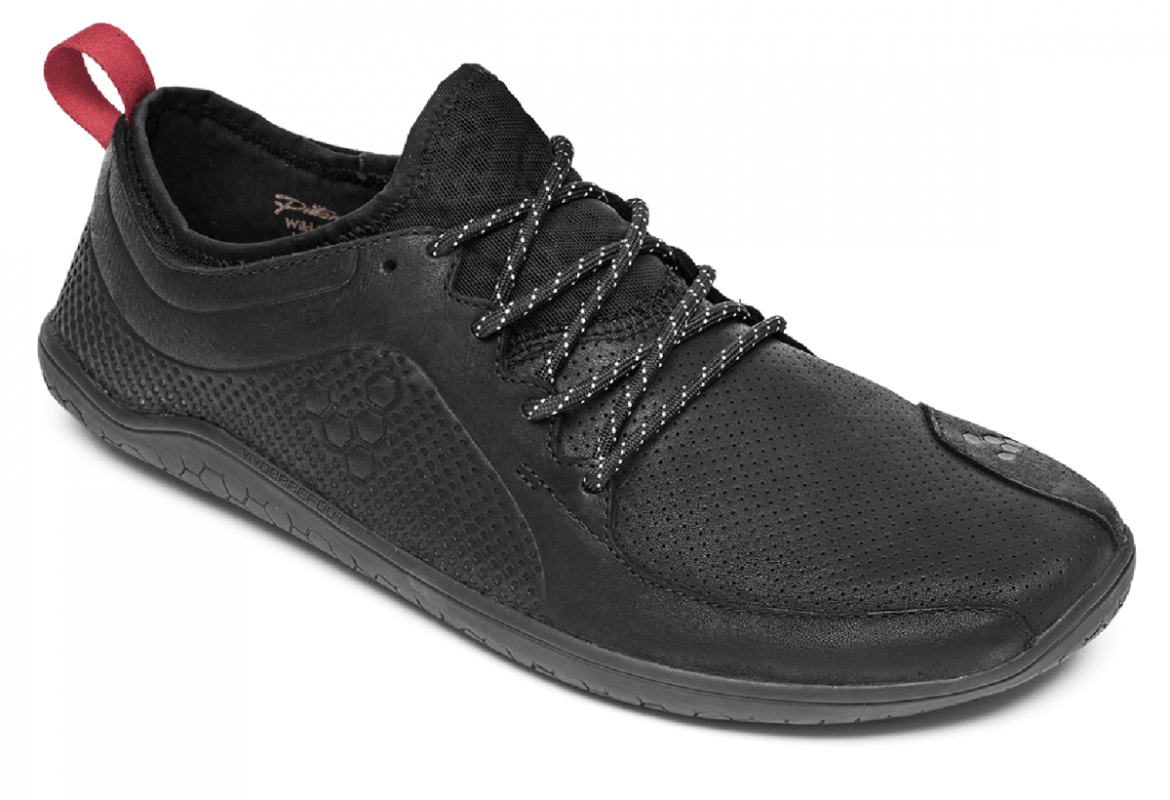 Barefoot Vivobarefoot PRIMUS LUX WP L Leather Black bosá