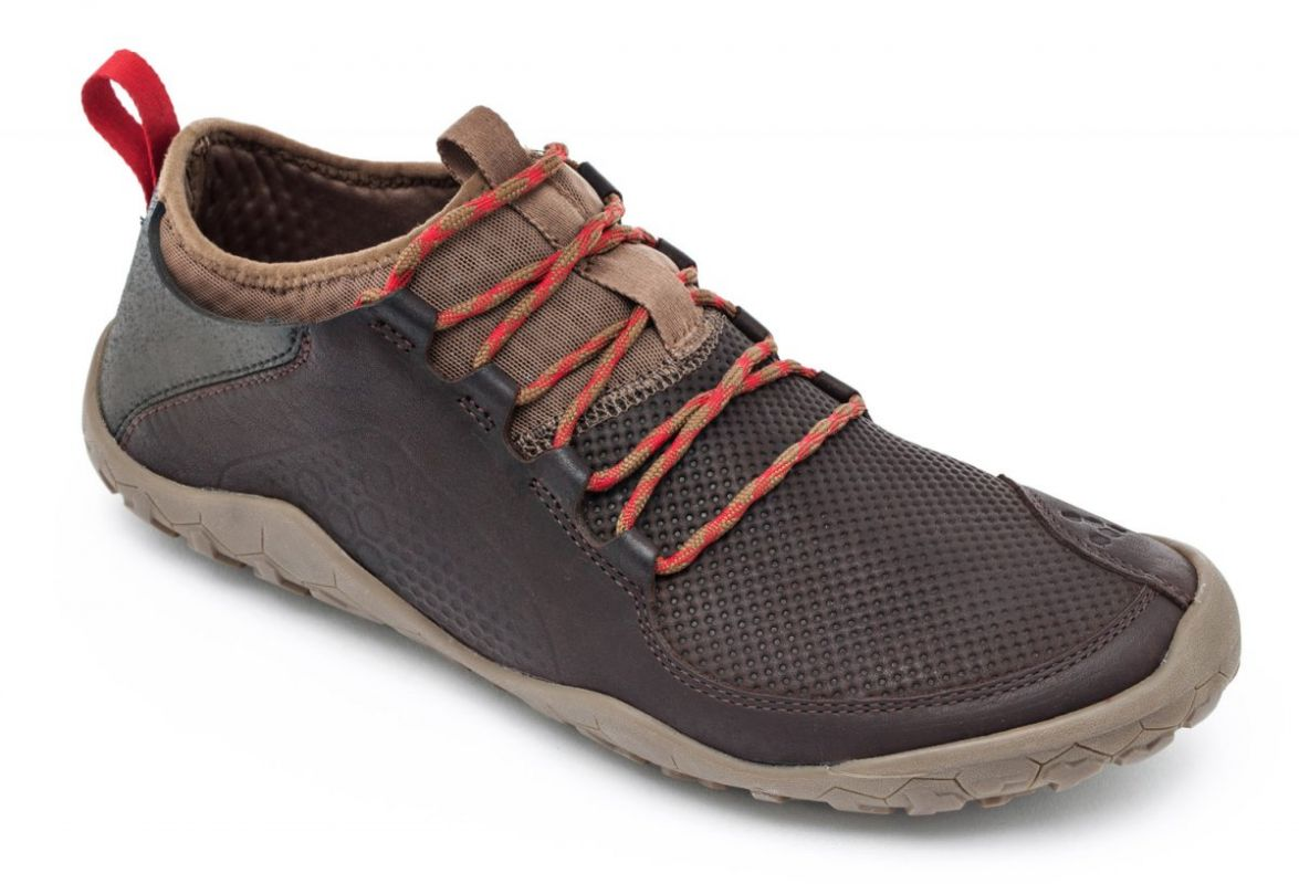 Barefoot Vivobarefoot PRIMUS TREK M Leather Dk Brown bosá