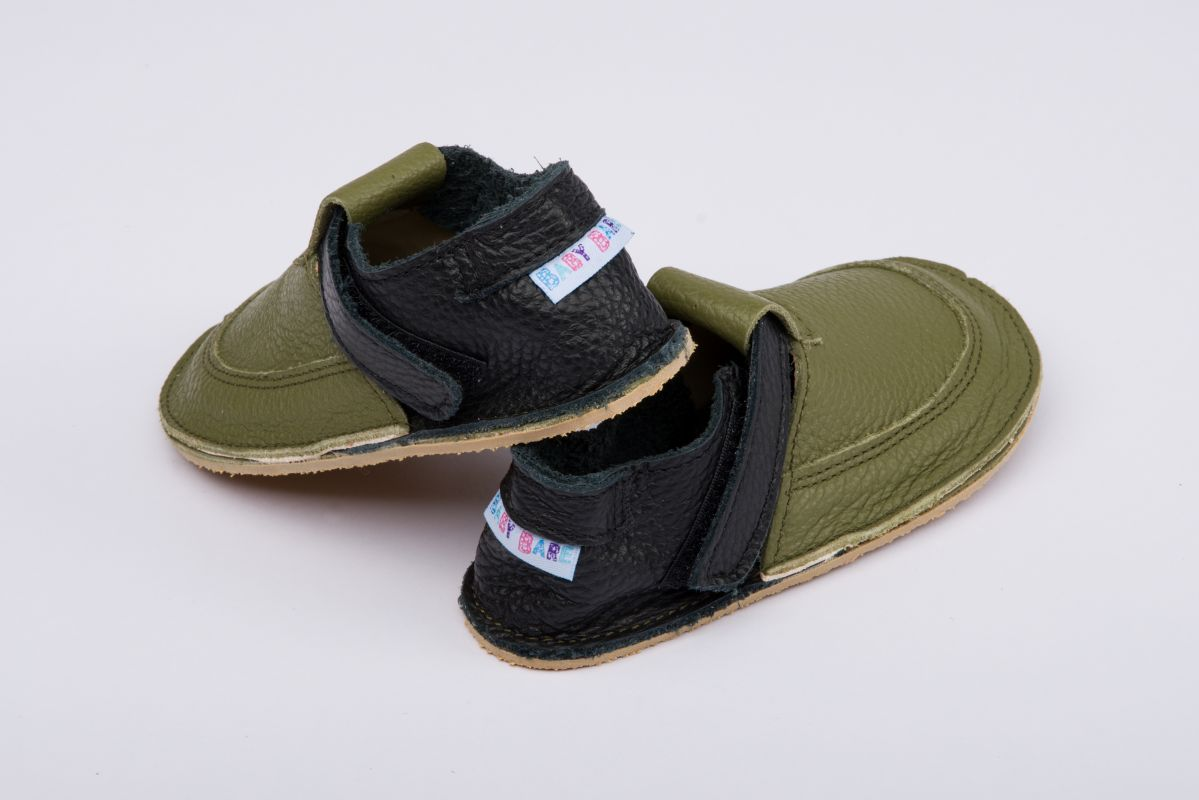 Barefoot BABY BARE SHOES OUTDOOR Forest bosá