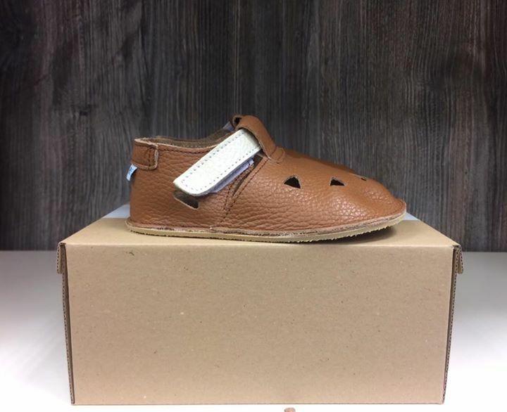 Barefoot Baby bare shoes Sandálky / papučky IO Bear bosá