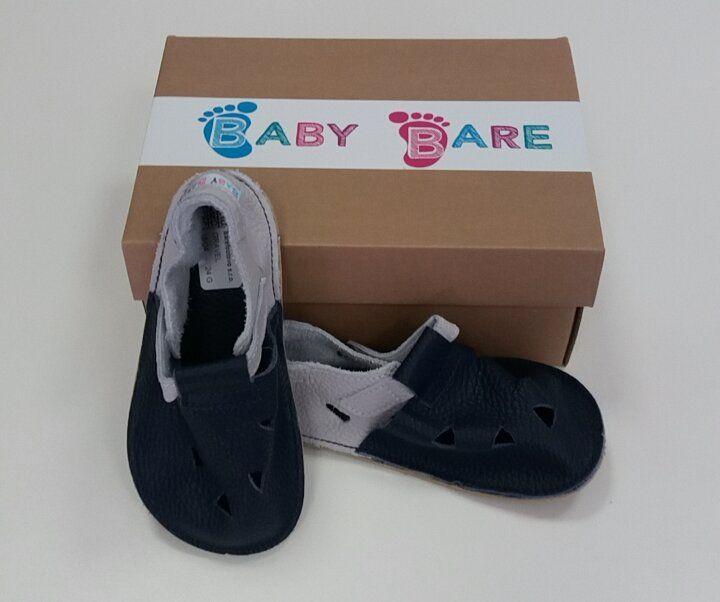 Barefoot Baby bare shoes Sandálky / papučky IO Gravel bosá