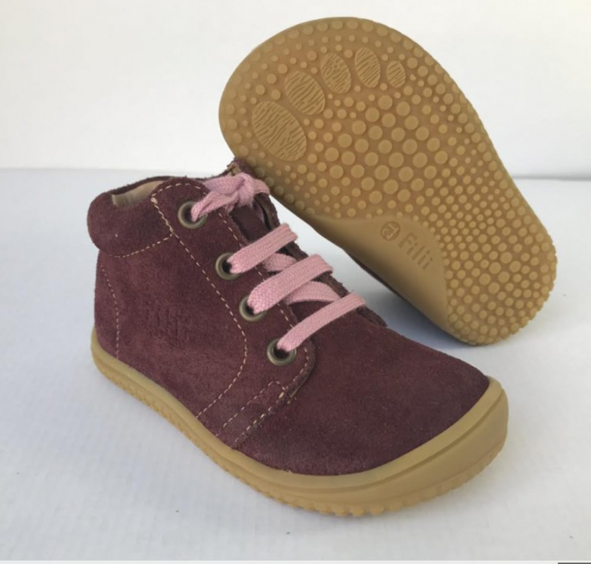 Barefoot Filii barefoot - Gecko Laces Berry W bosá