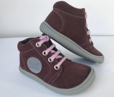 Filii barefoot - Gecko Laces Fleece Reflector Berry M