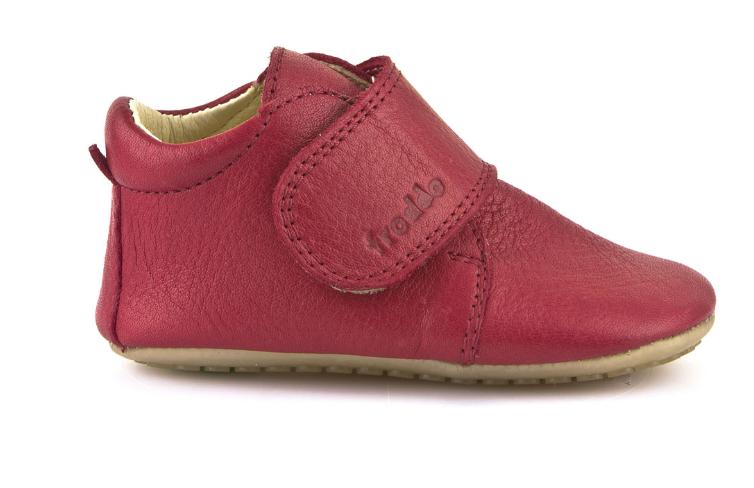 Barefoot Froddo prewalkers red bosá