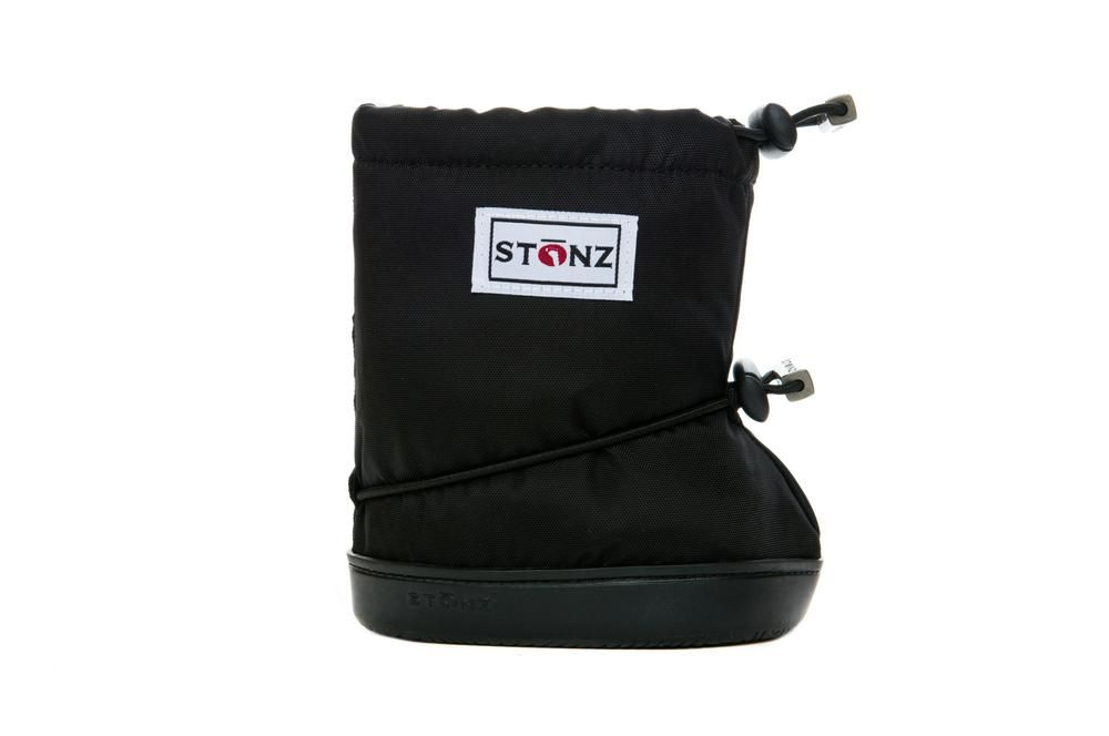 Barefoot STONZ booties Black PLUSfoam bosá