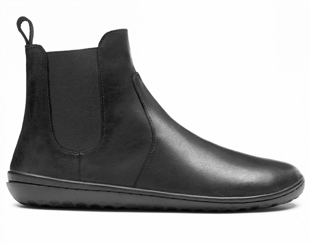Barefoot VIVOBAREFOOT FULHAM M LEATHER BLACK bosá