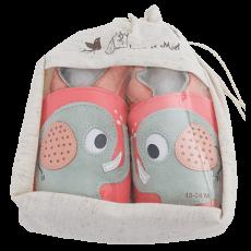 Barefoot Capáčky Lait et Miel slon bosá