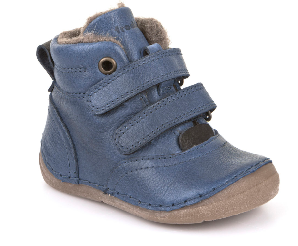 8fc47378f25 Barefoot Froddo winter boots Sheepskin denim bosá
