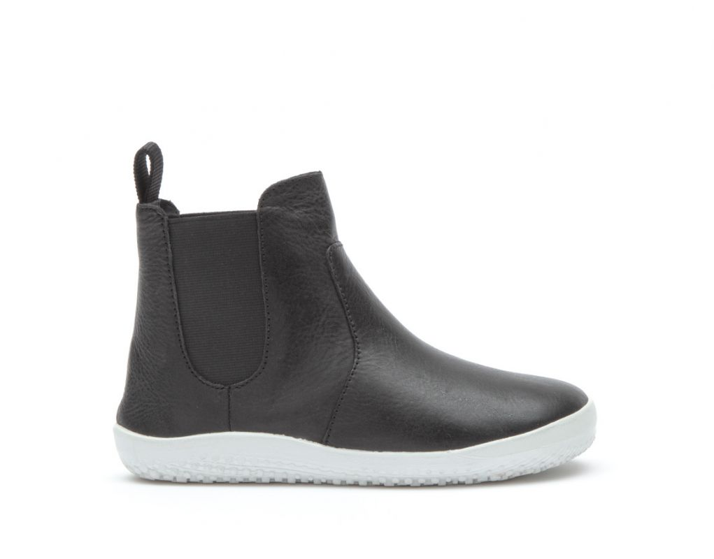 Barefoot VIVOBAREFOOT FULHAM K LEATHER BLACK bosá