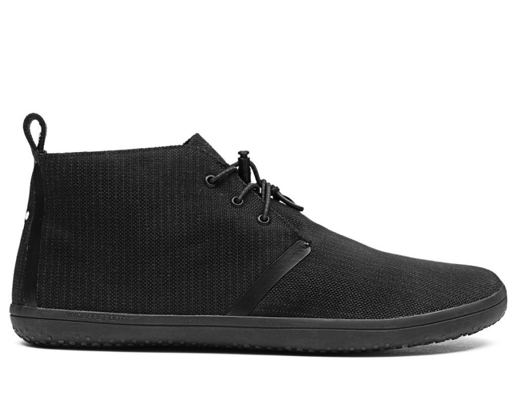 Barefoot Vivobarefoot GOBI II CANVAS L Black bosá