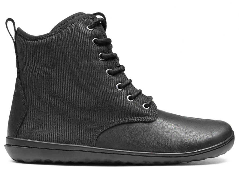 Barefoot VIVOBAREFOOT SCOTT 2.0 M LEATHER BLACK bosá