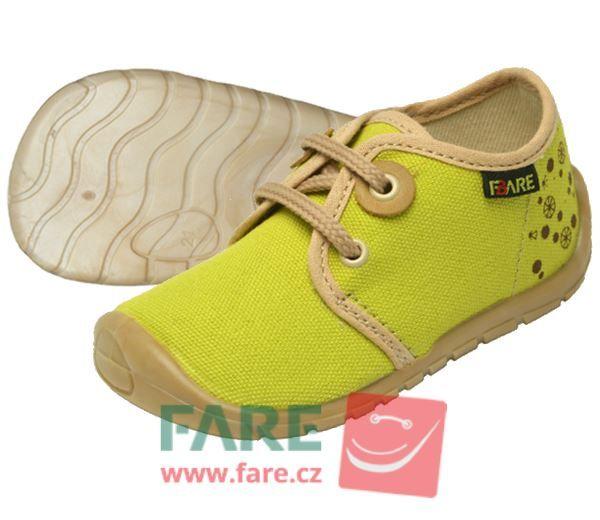 Barefoot FARE BARE DĚTSKÉ TENISKY 5011431 bosá