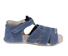 Ortoplus barefoot sandálky D200 modré