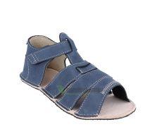 Barefoot Ortoplus barefoot sandálky D200 modré bosá