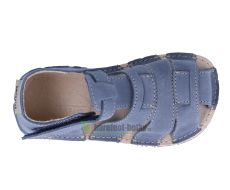 Barefoot Ortoplus barefoot sandálky D201 modré bosá