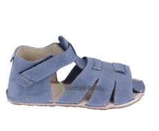Ortoplus barefoot sandálky D201 modré