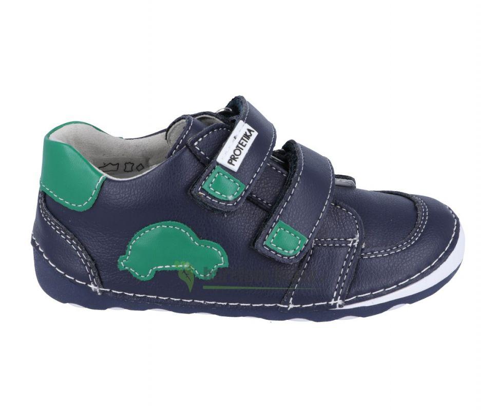 Barefoot Protetika levis green - celoroční botky bosá 5a06ac9cfe