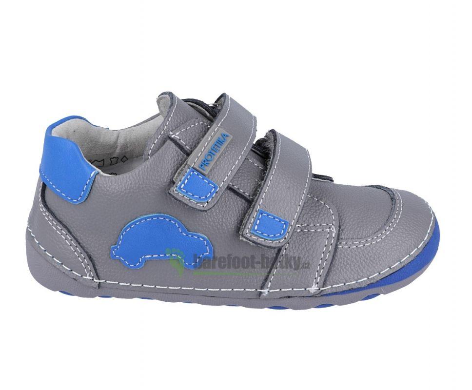 6ac7594456 Barefoot Protetika levis grey - celoroční botky bosá
