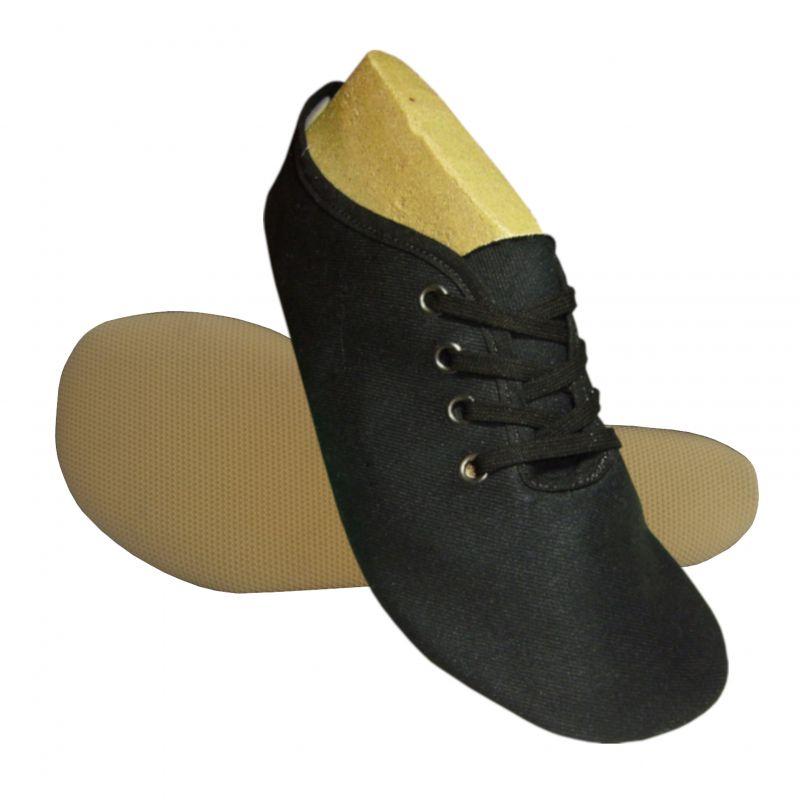 Barefoot Wins gymnastické barefoot cvičky MÁJA textilní černá bosá